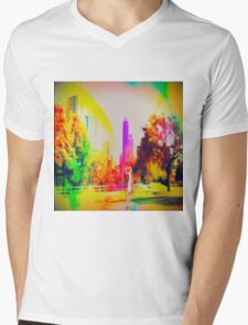 A Day in the Park Mens V-Neck T-Shirt