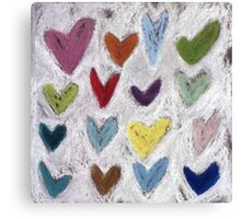 Happy Hearts I Canvas Print