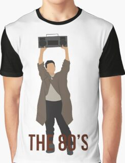 Say Anything - Famous Boombox Scene Graphic T-Shirt
