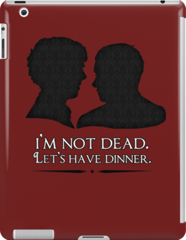 I'm Not Dead. Let's Have Dinner. by saniday