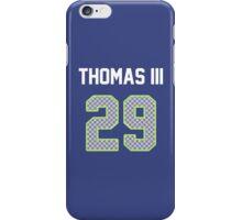 Earl Thomas III Jersey iPhone Case/Skin
