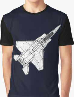 F15 Eagle Fighter Plane Graphic T-Shirt