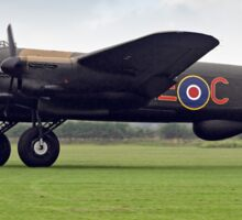 """Lancaster B.VII NX611 G-ASXX """"Just Jane"""" Sticker"""