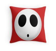 Shy Guy Throw Pillow