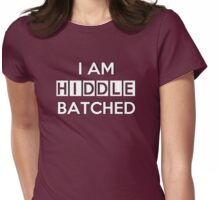 Hiddlebatched Womens Fitted T-Shirt