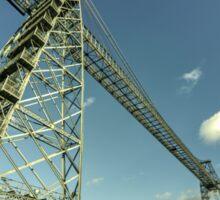 Newport Transporter Bridge  Sticker