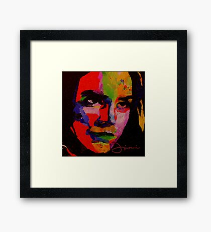 Kate, the girl from the dream Framed Print