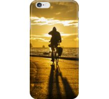 Cycling the Seawall iPhone Case/Skin