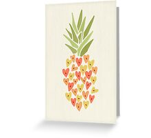 My Pineapple Valentine Greeting Card