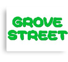 GTA San Andreas Game PC XBOX Playstation Grove Street Quotes Canvas Print