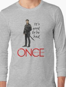 OUAT, once upon a time, OUAT hook, hook, good to be bad Long Sleeve T-Shirt
