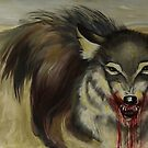 Steppe wolf by resonanteye