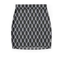 Caged Mini Skirt