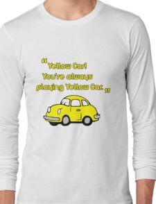 Yellow Car Long Sleeve T-Shirt