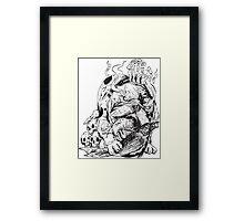 Sin Eater Framed Print