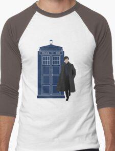 Dr. Who / Sherlock Men's Baseball ¾ T-Shirt