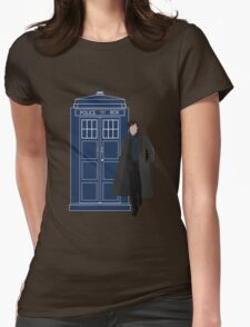 Dr. Who / Sherlock Womens Fitted T-Shirt