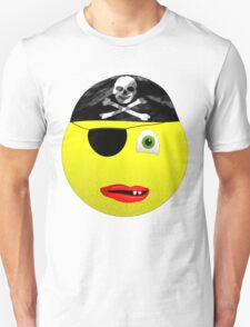 Smiley Pirate Unisex T-Shirt
