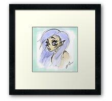 Elf girl Framed Print