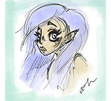 Elf girl Photographic Print