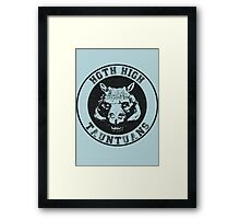 HOTH HIGH TAUNTAUNS Framed Print