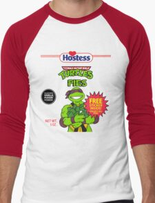 Teenage Mutant Puddin' Pies Men's Baseball ¾ T-Shirt