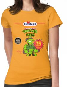 Teenage Mutant Puddin' Pies Womens Fitted T-Shirt