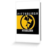 Steelers Greeting Card