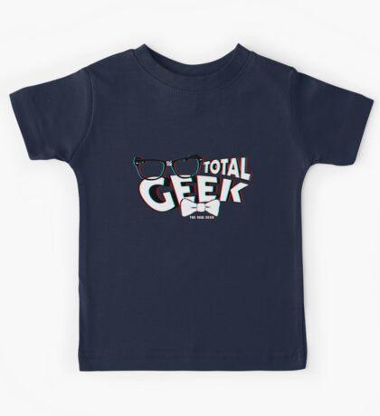 Total Geek - 3D Effect Kids Tee