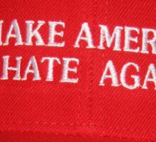 Trump is a Loud, Racist, Baby-Man Sticker