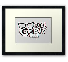 Total Geek - 3D Effect Framed Print