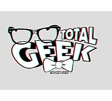 Total Geek - 3D Effect Photographic Print