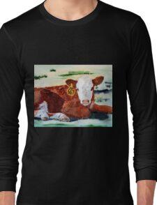 Hereford Calf Long Sleeve T-Shirt