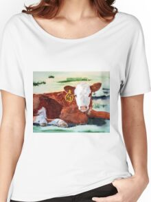 Hereford Calf Women's Relaxed Fit T-Shirt