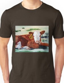 Hereford Calf Unisex T-Shirt