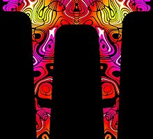 Psychedelicious Side Stripe by Ra12