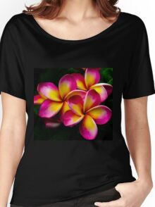 Plumeria Flower Women's Relaxed Fit T-Shirt