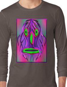 Mask psychedelic Long Sleeve T-Shirt