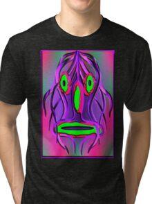 Mask psychedelic Tri-blend T-Shirt