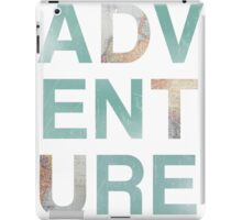 Adventure Punch Out Map Teal iPad Case/Skin