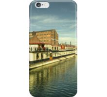 Oliver Cromwell at Gloucester Docks  iPhone Case/Skin