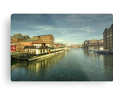 Oliver Cromwell at Gloucester Docks  Metal Print