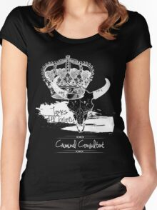 Criminal Consultant Women's Fitted Scoop T-Shirt