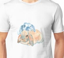 Two Rabbits Unisex T-Shirt