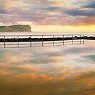 MacMasters Beach Sea Pool, New South Wales, Australia by Michael Boniwell