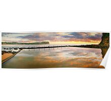 MacMasters Beach Sea Pool, New South Wales, Australia Poster