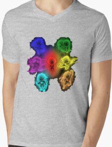 Undertale the Souls Incarnate Mens V-Neck T-Shirt