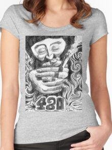 420 Women's Fitted Scoop T-Shirt