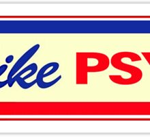 "I Like Psych (based off ""I Like Ike"" campaign bumper stickers) Sticker"