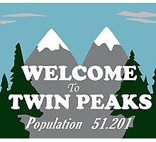 Twin Peaks Photographic Print